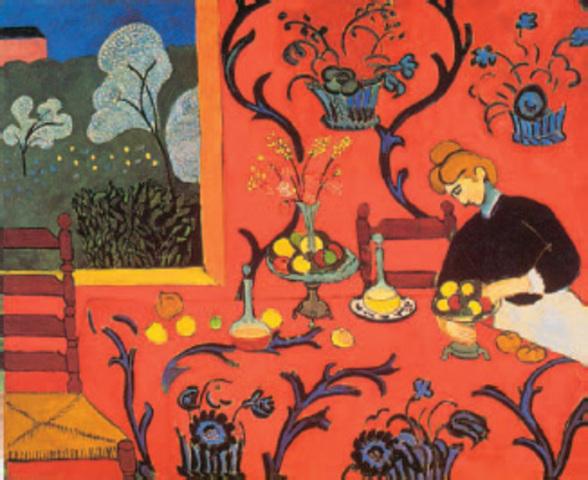 Ματίς - Η σερβάντα (1908)