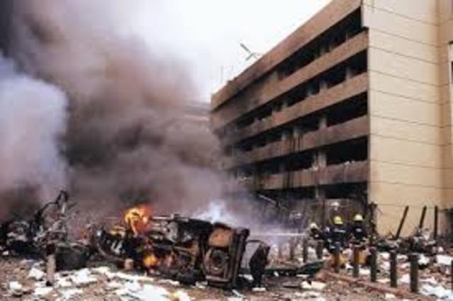 Embassy Bombing on Tanzania