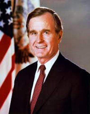 George H.W. Bush Becomes President