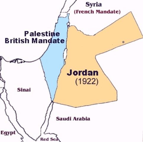 Palestine Becoming British Mardale