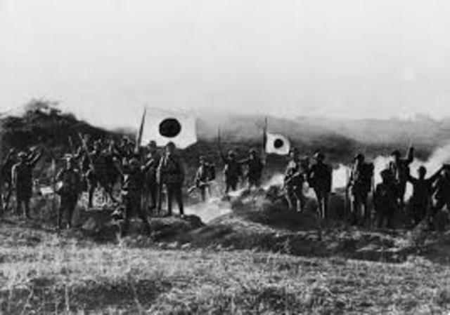 Japanese Invasion of Machura