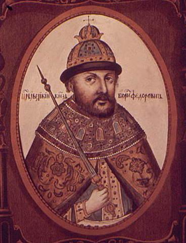 Возведен на трон Борис Годунов (1598-1605)