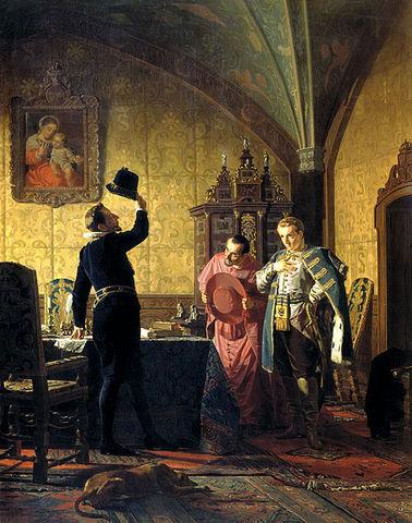 Прибытие Лжедмитрия I в Краков