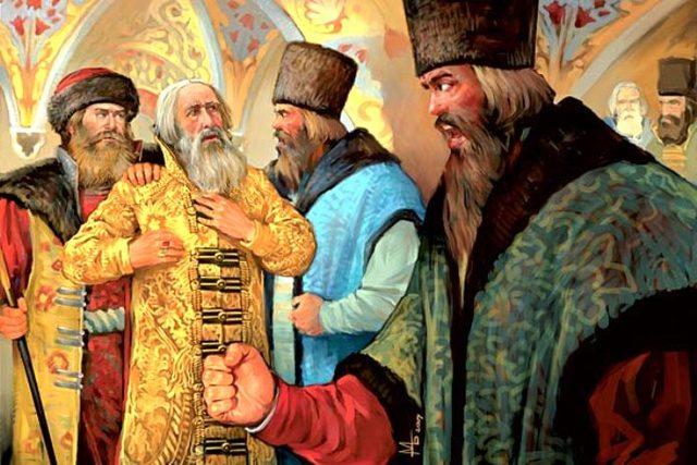 Свержение царя Василия Шуйского