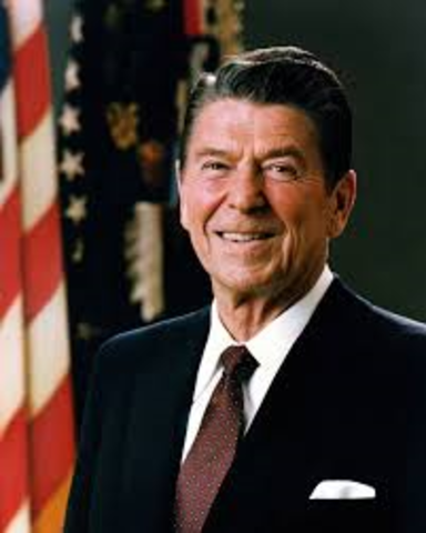 Ronald Reagen Becomes President