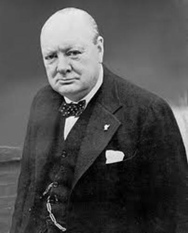 Churchill Obtains Power