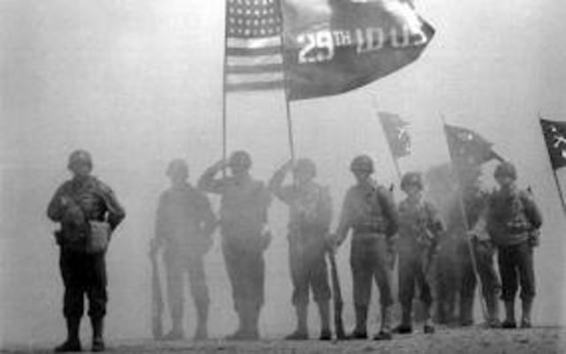 American Troops Arrive