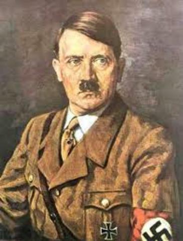 Adolph Hitler as Chancellor of Germany