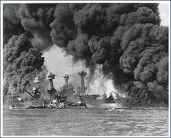 Bombing at Pearl Harbour