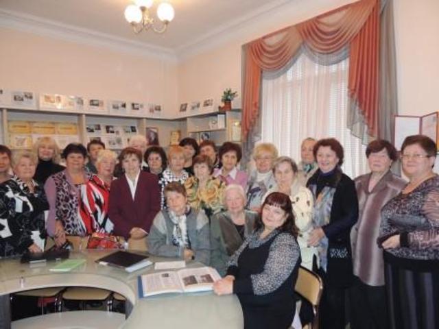 Участие в организации праздника для ветеранов педагогической деятельности в музее «Истоки».