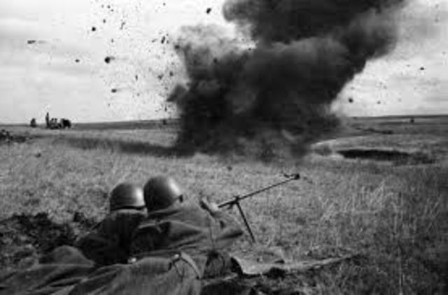 The end of The Battle of Kursk