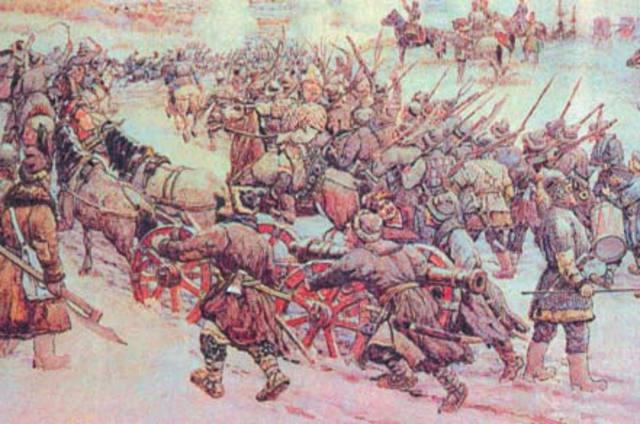 Окончание восстания под предводительством Болотникова