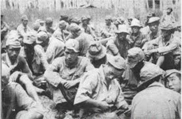 The end of Guadalcanal Campaign