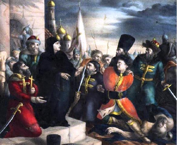 Восстание в Москве против поляков