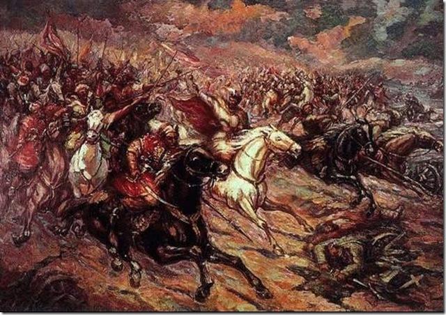 Начало восстания Богдана Хмельницкого