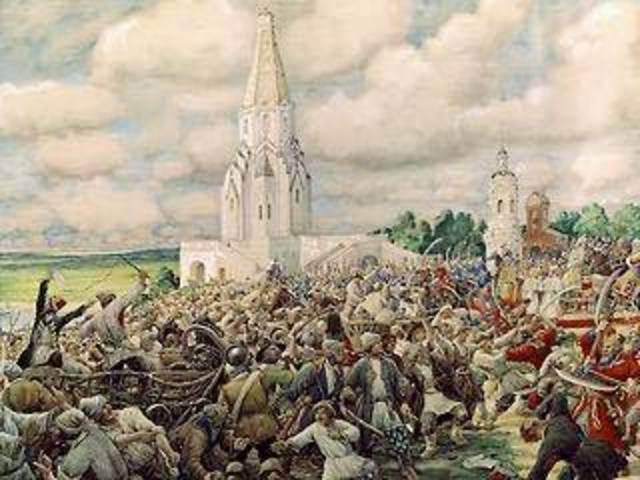 Восстание в Москве – «медный бунт»
