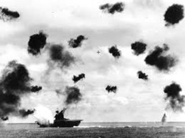 Midway Island Battle