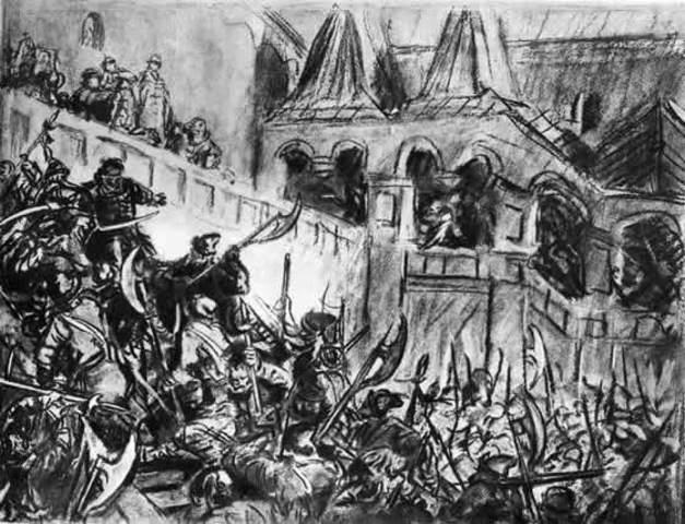 Стрелецкий бунт ( Хованщина)