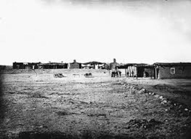 Camp Grant, AZ Apache massacre