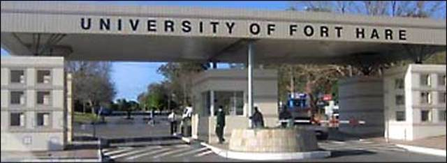 Enrolled at Fort Hare College