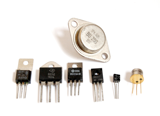 Inventan el transistor
