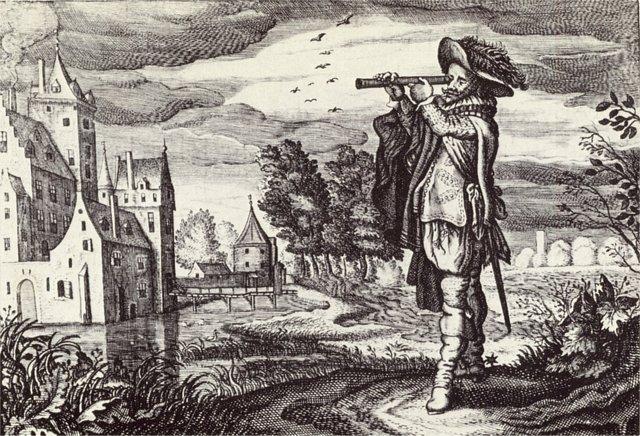 Telescope by the dutch