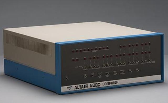 Первый микрокомпьютер