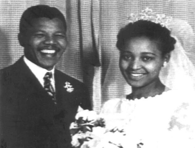Mandela's marriage had gotten rocky