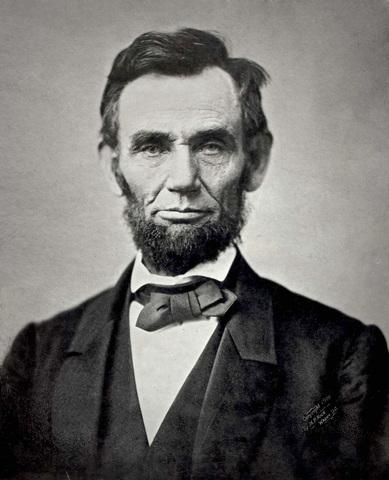 Abraham Lincoln es presidente