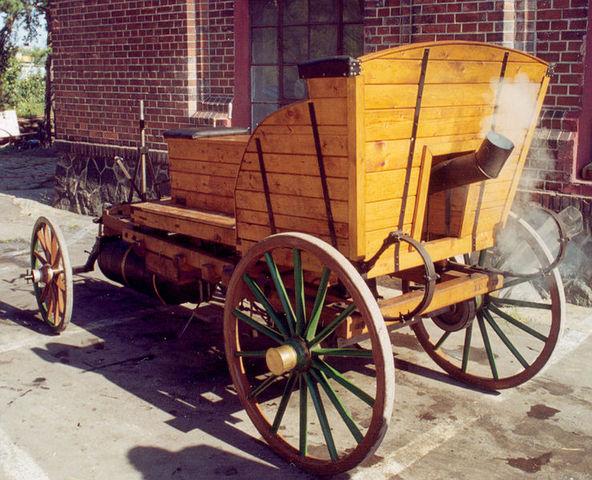 Oil-fired steam car