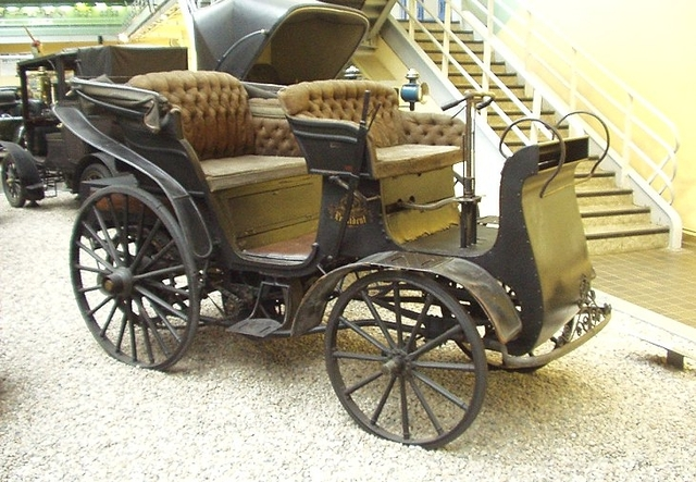 The first motor car