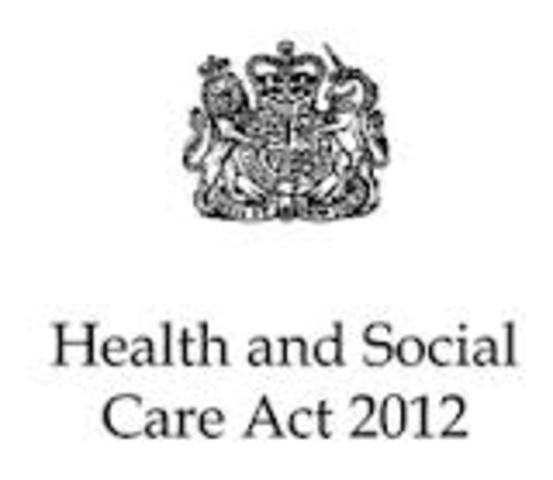 First draft of The Health and Social Care Bill 2012