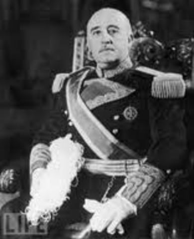 Franco becomes dictator of Spain