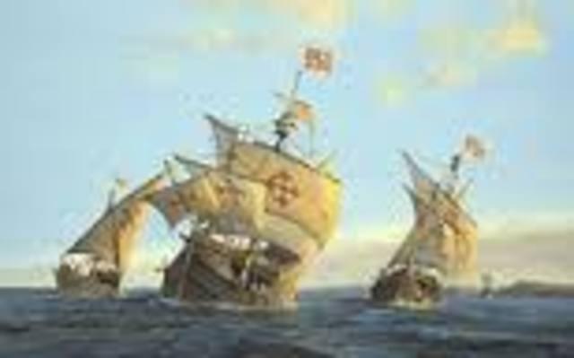 The Spanish Set Sail