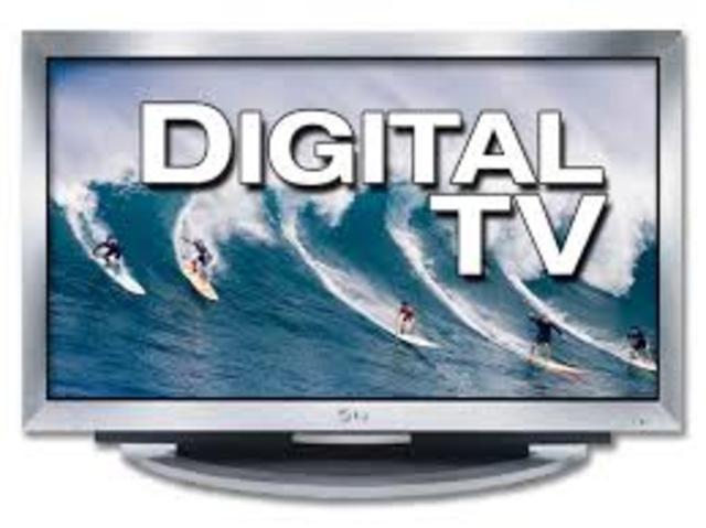 TV standard changes to digital