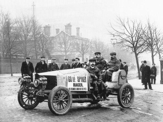 The first racing car