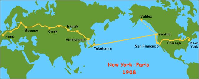 The first circumnavigation