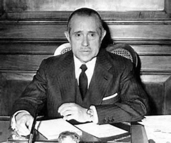 Primer Gobierno de Arias Navarro