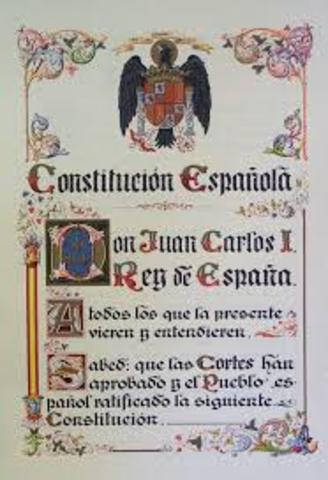 Aparición de la Constitución