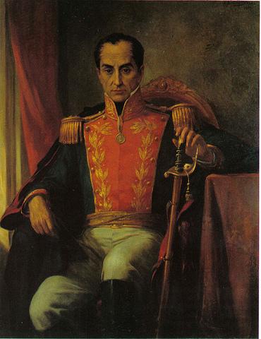 Bolívar returns to Venezuela