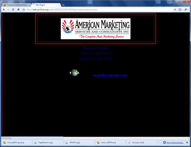 Website redesign #1