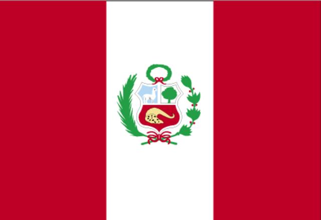 Peru  declares independence