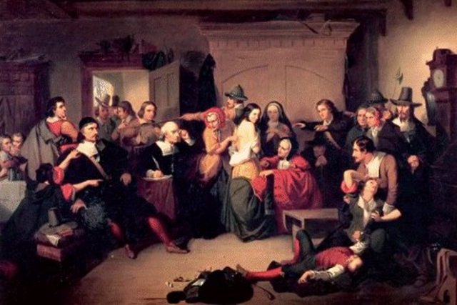 Salem Witchcraft trails take place in Massachusetts