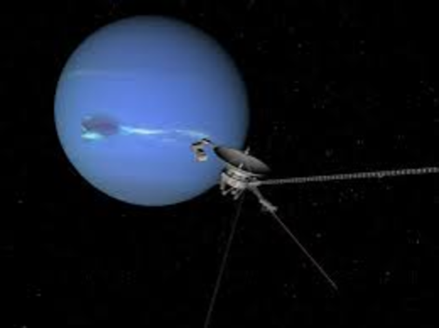 Voyager 2 from Neptune
