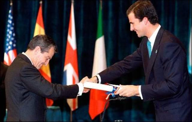 Adolfo Suárez Premio Príncipe de Asturias de la Concordia