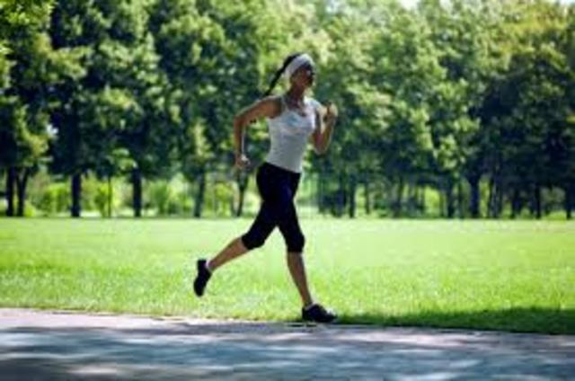 Cuando yo tenía catorce años, yo corría en el parque.