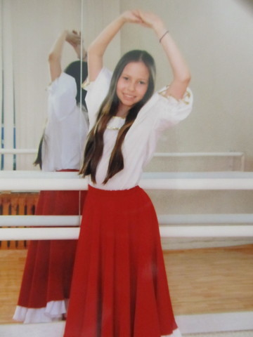 7 класс, окончание обучения на хореографическом отделении