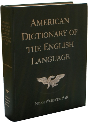 1828 – Noah Webster publishes first dictionary