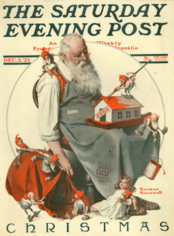 Saturday Evening Post founded