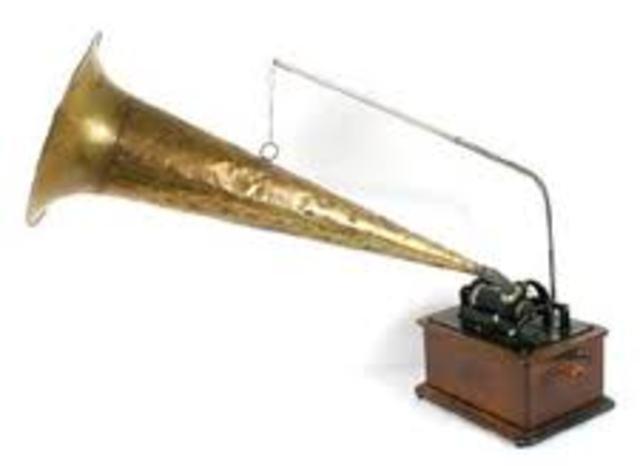 "Thomas Edison invents the ""talking machine"""